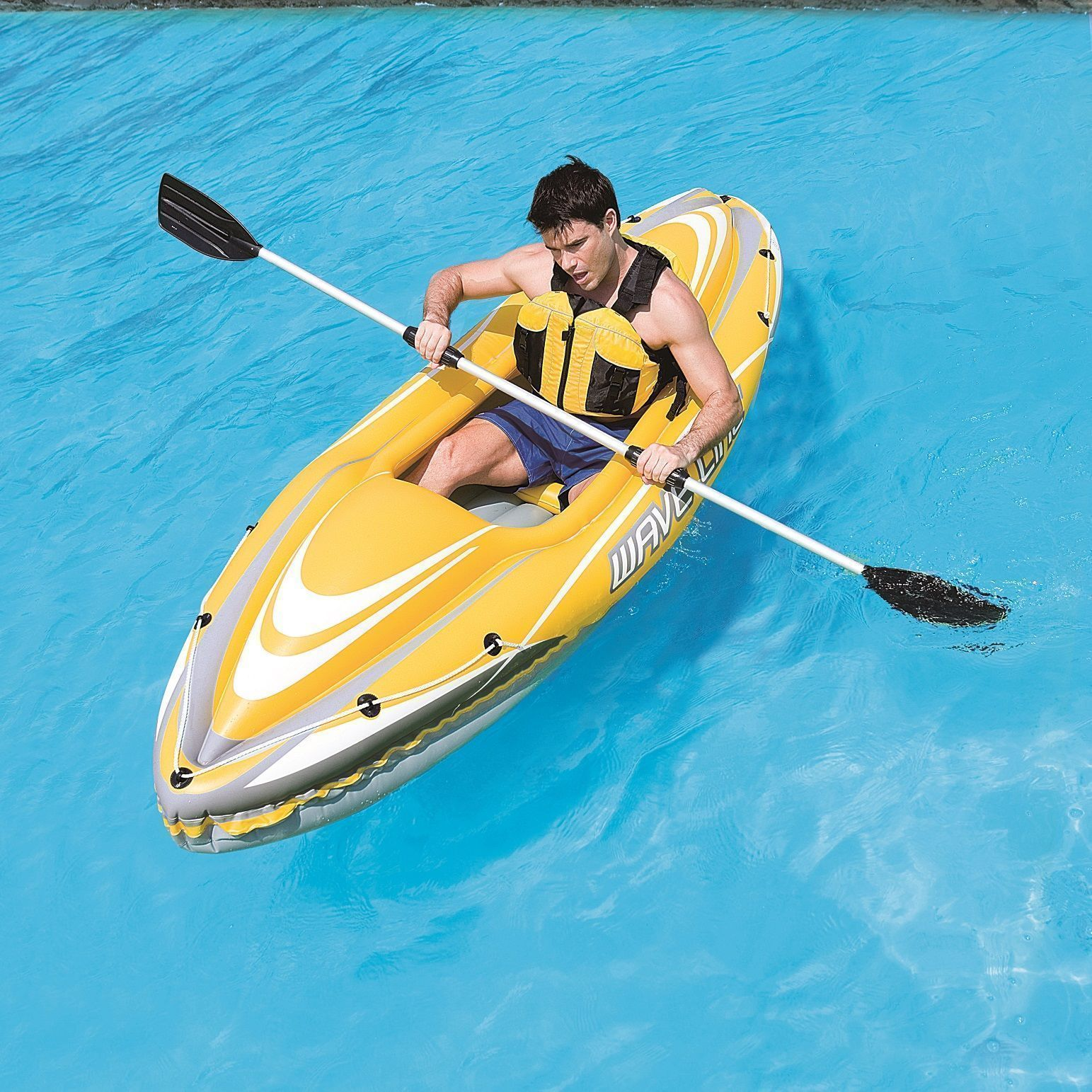 Barcas hinchables y kayak hydro force for Piscina canoe