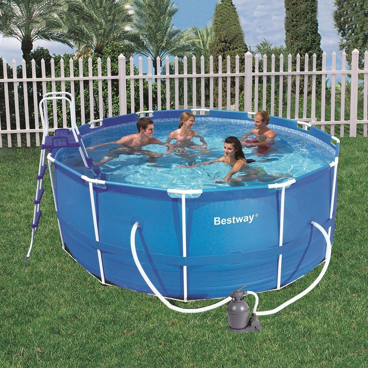 Piscinas tubulares bestway for Piscinas intex baratas