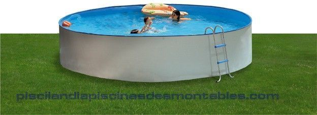 Piscina desmontable de acero modelo promo 3 tama os con for Piscinas intex baratas
